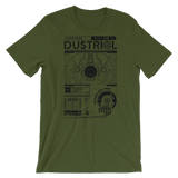 INTERFACE ETHERNET XERO UNISEX T-SHIRT-Olive-S-Dustrial