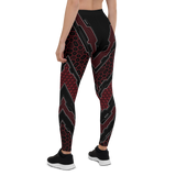 SCORPIO RED LEGGINGS-XS-Dustrial
