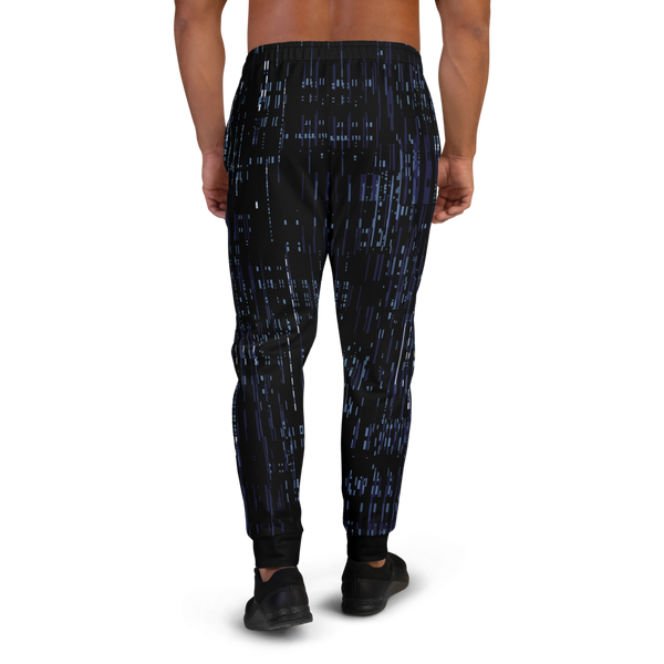 DEFRAG BLUE AO MEN'S JOGGERS