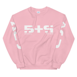 09011E STR CREWNECK SWEATSHIRT-Light Pink-S-Dustrial