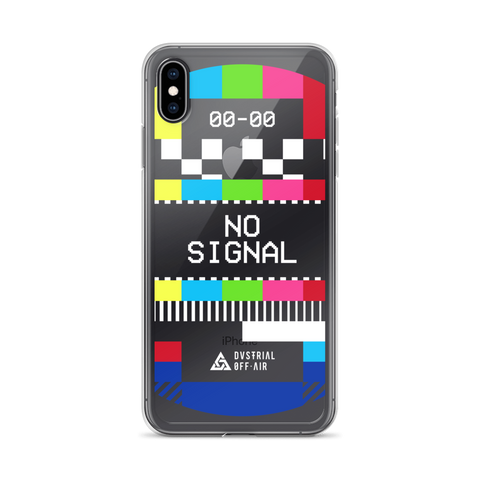 NO SIGNAL IPHONE CASE-iPhone XS Max-Dustrial