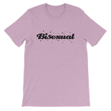 BISEXUAL BLING UNISEX T-SHIRT-Heather Prism Lilac-XS-Dustrial