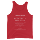PRINCIPIA UNISEX TANK TOP-Red-XS-Dustrial