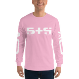 STR LONG SLEEVE T-SHIRT-Light Pink-S-Dustrial