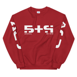 09011E STR CREWNECK SWEATSHIRT-Red-S-Dustrial