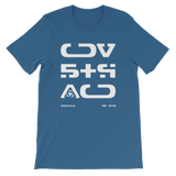 09011E STR UNISEX T-SHIRT-Steel Blue-S-Dustrial