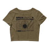 INTERFACE ETHERNET XERO CROP TEE-Heather Olive-XS/SM-Dustrial