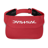 09011E STR VISOR-Red-Dustrial