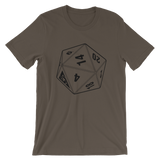 BF D20 UNISEX T-SHIRT-Army-S-Dustrial