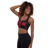 09011E BURN PADDED SPORTS BRA-Dustrial