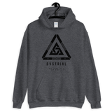 TRINITY MONO HOODIE-Dark Heather-S-Dustrial
