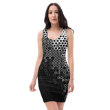HEX GEN MONO BODYCON DRESS