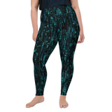 SILICON BLUE PS LEGGINGS-2XL-Dustrial