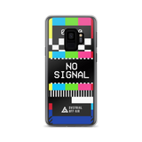 NO SIGNAL SAMSUNG CASE