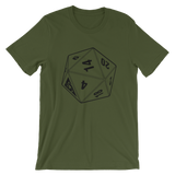 BF D20 UNISEX T-SHIRT-Olive-S-Dustrial