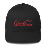 CYBERCRIME ZERODAY FLEXFIT CAP-Black-S/M-Dustrial