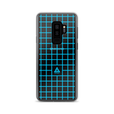 LOW-POLY BLUE SAMSUNG CASE