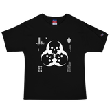 09011E DIA EX CHAMPION TEE-Black-S-Dustrial