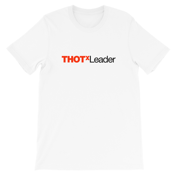 THOT LEADER UNISEX T-SHIRT-White-XS-Dustrial