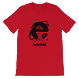 ZOTH OMG UNISEX T-SHIRT-Red-S-Dustrial