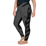 CMD & CTRL V2 GREY PS LEGGINGS-Dustrial