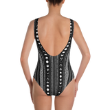 LUNAR PHASE MONO ONE-PIECE SWIMSUIT