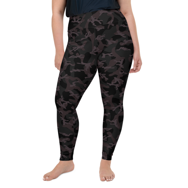 CAMO BLACK PS LEGGINGS-2XL-Dustrial
