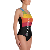 VHS SORRY ONE-PIECE SWIMSUIT