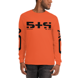 STR LONG SLEEVE T-SHIRT-Orange-S-Dustrial