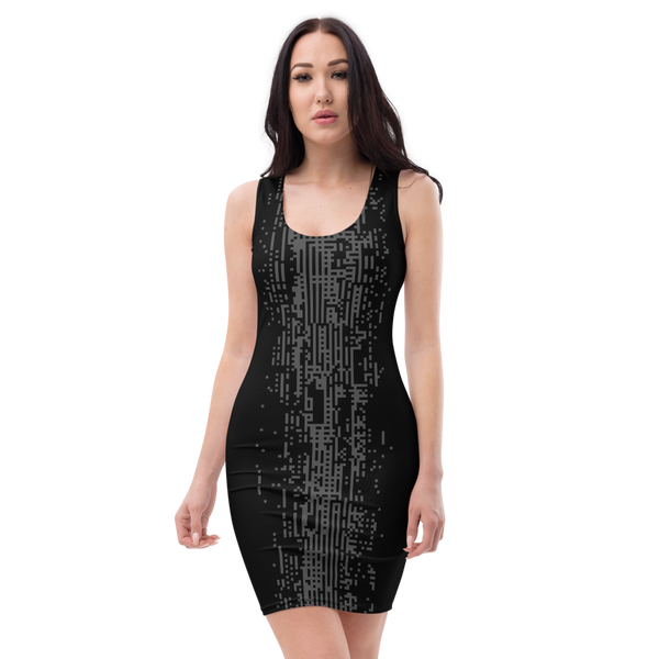 DEFRAG R0 GREY BODYCON