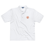 BIOHAZARD E POLO SHIRT-White-S-Dustrial
