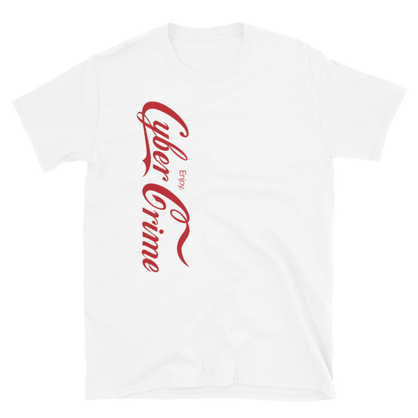 CYBERCRIME ZERODAY BUDGET TEE-White-S-Dustrial