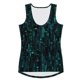 SILICON BLUE SPORT TANK TOP-Dustrial
