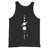 SOLAR.SYS UNISEX TANK TOP-XS-Dustrial