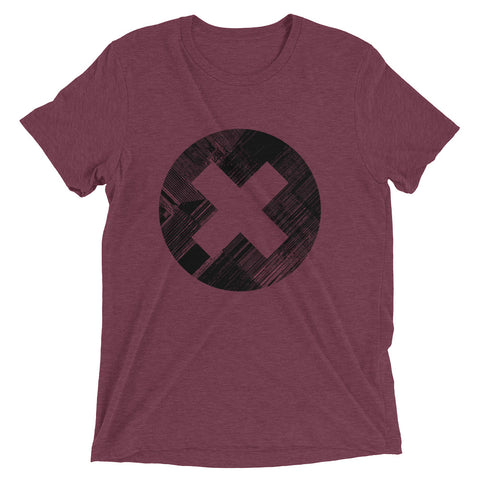 ERROR DISTRESS UNISEX TRI-BLEND T-SHIRT
