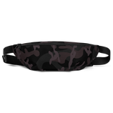 CAMO BLACK FANNY PACK-S/M-Dustrial