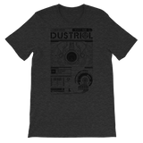 INTERFACE ETHERNET XERO UNISEX T-SHIRT-Dark Grey Heather-S-Dustrial