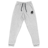 CRYPTO END USER E UNISEX JOGGERS-Athletic Heather-S-Dustrial