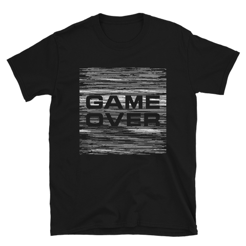 GAME OVER BUDGET TEE-Black-S-Dustrial