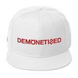 DEMONETIZED SNAPBACK-White-Dustrial