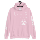 09011E DIA WIGHT UNISEX HOODIE-Light Pink-S-Dustrial
