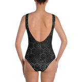 HEX PHASE BLVCK ONE-PIECE SWIMSUIT-Dustrial