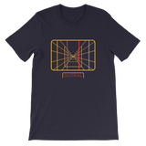 STAY ON TARGET UNISEX T-SHIRT-Navy-S-Dustrial