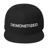 DEMONETIZED SNAPBACK-Black-Dustrial