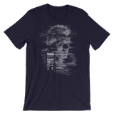 TEARS GLITCH UNISEX T-SHIRT-Navy-S-Dustrial