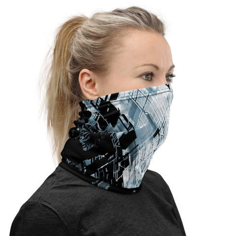 PROXIMA BLUE NECK GAITER MASK-Dustrial