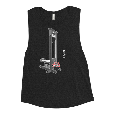SEEDS OF CHANGE WOMEN'S MUSCLE TANK-Black Heather-S-Dustrial
