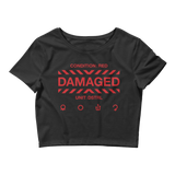 DANGER 000 CROP TEE-Black-XS/SM-Dustrial