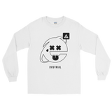 2SAD2WEIRD LONG SLEEVE T-SHIRT-White-S-Dustrial