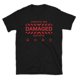 DAMAGED 000 BUDGET TEE-Black-S-Dustrial